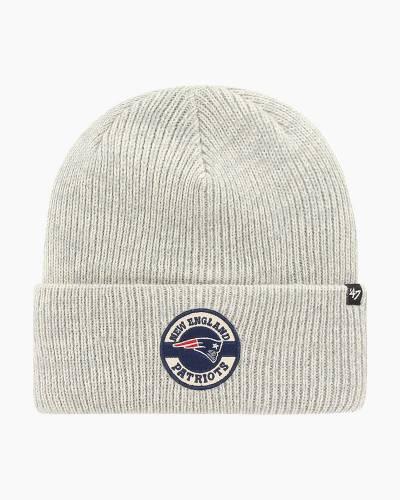 New England Patriots Plainfield Cuff Knit Beanie