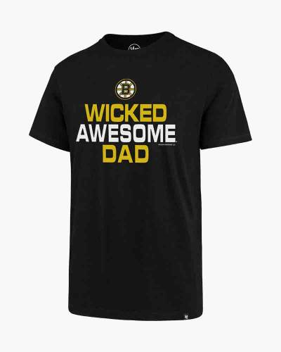 Boston Bruins Wicked Awesome Dad Short-Sleeve Men's Tee