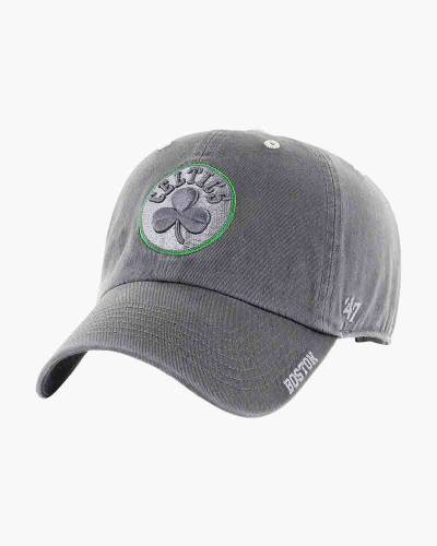 Boston Celtics Ice Clean Up Cap in Charcoal