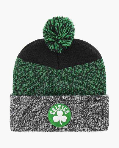 Boston Celtics Logo Static Cuff Knit Beanie