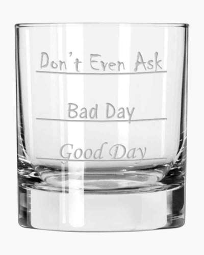Don't Ask Double Old Fashion Glass