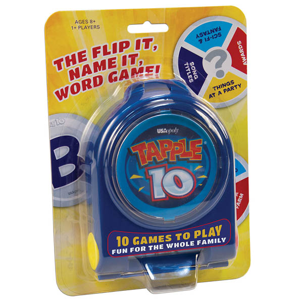 USAopoly Tapple 10 Word Game