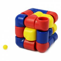 University Games Cubix Tube Puzzle