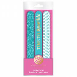Upper Canada Soap Time to Sparkle Nail File Set (3-Piece)