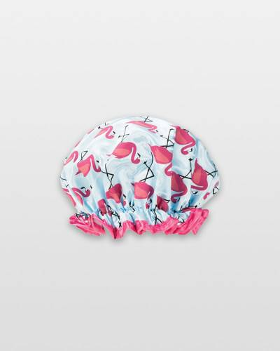 Flamingos Shower Cap
