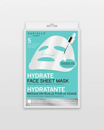 Hyaluronic Acid Hydrating Face Masks (5-Pack)