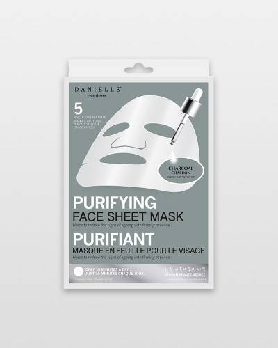 Charcoal Purifying Face Masks (5-Pack)