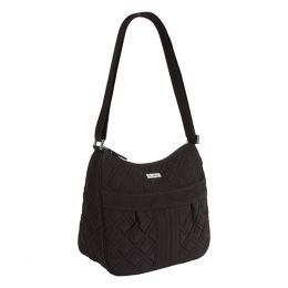 Vera Bradley Carryall Crossbody in Classic Black