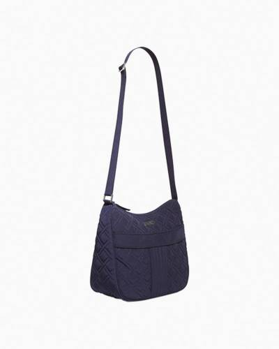 Carryall Crossbody in Classic Navy