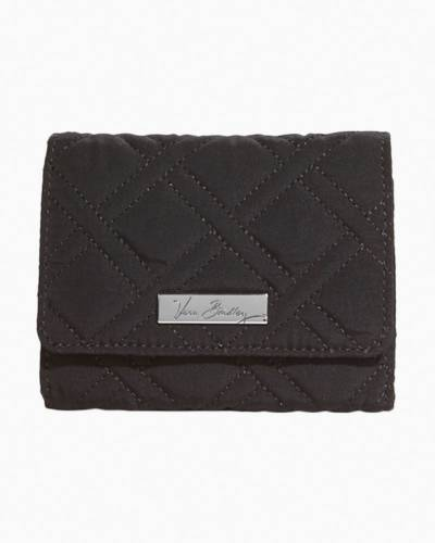 Petite Trifold Wallet in Classic Black