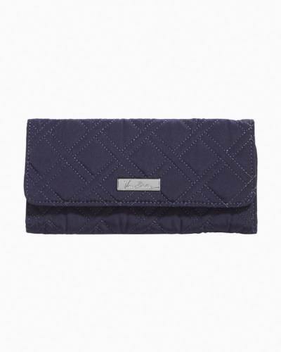 Trifold Wallet in Classic Navy