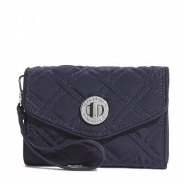 Vera Bradley Your Turn Smartphone Wristlet in Classic Navy