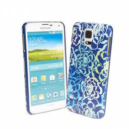 Vera Bradley Snap On Case for Samsung Galaxy S 5 in Katalina Blues