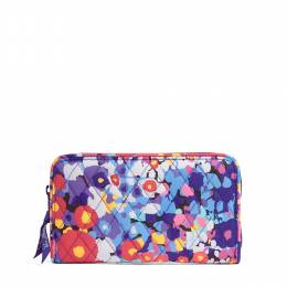 Vera Bradley Accordion Wallet in Impressionista