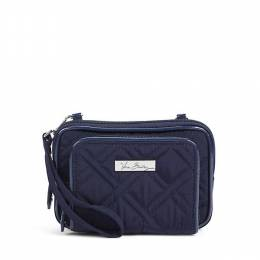 Vera Bradley On the Square Wristlet 2.0 in Classic Navy
