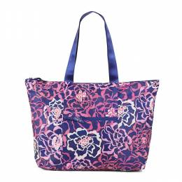 Vera Bradley Tote in a Pouch in Katalina Pink