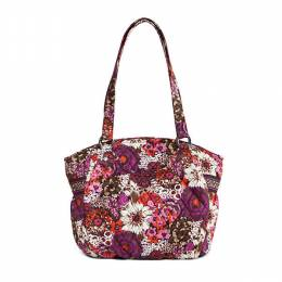 Vera Bradley Glenna Shoulder Bag in Rosewood