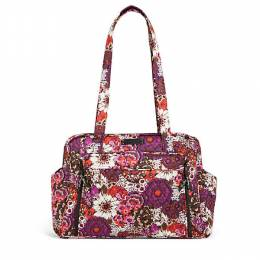 Vera Bradley Stroll Around Baby Bag in Rosewood
