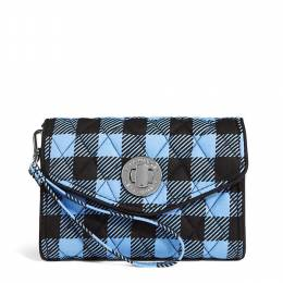 Vera Bradley Your Turn Smartphone Wristlet in Alpine Check