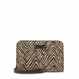 Vera Bradley Zip-Around Wristlet in Zebra