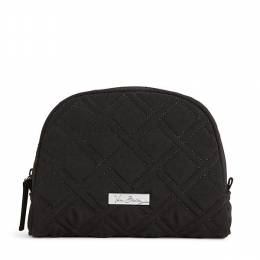 Vera Bradley Medium Zip Cosmetic Case in Classic Black