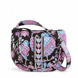 Vera Bradley Lizzy Crossbody Bag in Alpine Floral