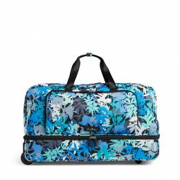 Vera Bradley Lighten Up Large Wheeled Duffel Bag in Camofloral