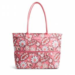Vera Bradley Lighten Up Expandable Travel Tote in Blush Pink