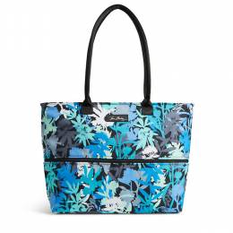 Vera Bradley Lighten Up Expandable Travel Tote in Camofloral
