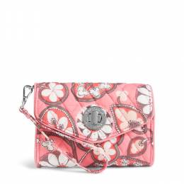 Vera Bradley Your Turn Smartphone Wristlet in Blush Pink