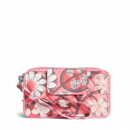 Vera Bradley Smartphone Wristlet for iPhone 6 in Blush Pink