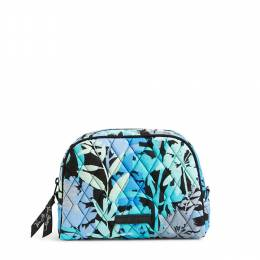 Vera Bradley Medium Zip Cosmetic in Camofloral