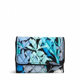 Vera Bradley Petite Trifold Wallet in Camofloral