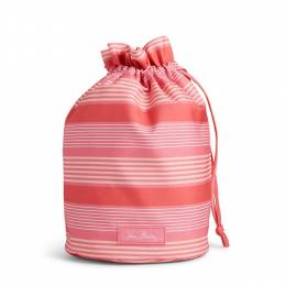 Lighten Up Ditty Bag in Pink Tonal Stipe