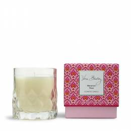 Vera Bradley Scented Candle in Glass in Macaroon Rose
