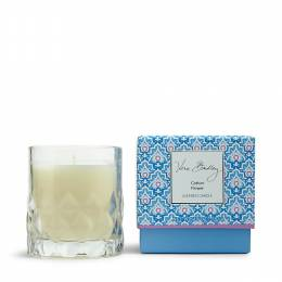Vera Bradley Scented Candle in Glass in Cotton Flower