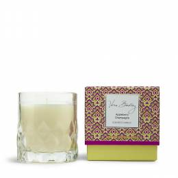 Vera Bradley Scented Candle in Glass in Appleberry Champagne