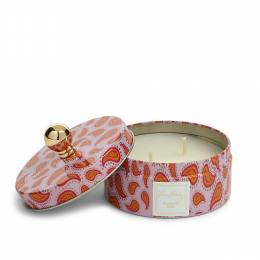 Vera Bradley Scented Candle in Tin in Macaroon Rose