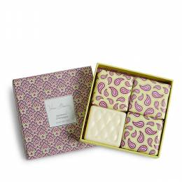 Vera Bradley Soap Gift Set in Appleberry Champagne