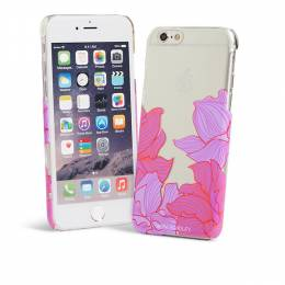 Vera Bradley Clear & Chic Case for iPhone 6 in Paradise Floral Lilac