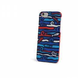 Snap On Case for iPhone 6 in Cobalt Fish