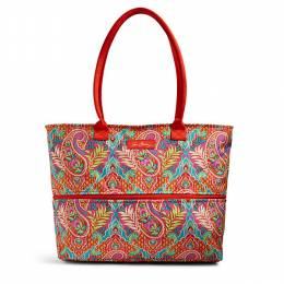 Vera Bradley Lighten Up Expandable Travel Tote in Paisley In Paradise