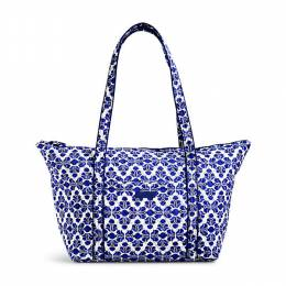 Vera Bradley Miller Travel Bag in Cobalt Tile
