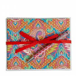 Vera Bradley Notecards with Pen in Paisley in Paradise