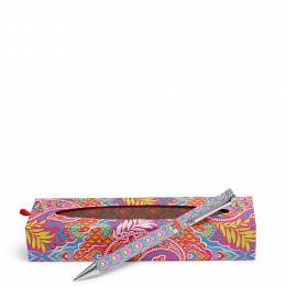 Vera Bradley Ball Point Pen in Paisley in Paradise