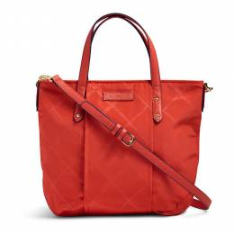Preppy Poly Satchel in Orange