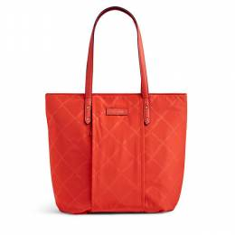 Preppy Poly Tote in Orange
