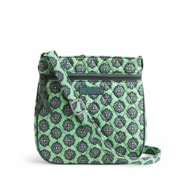 Vera Bradley Petite Double Zip Hipster in Nomadic Blossoms