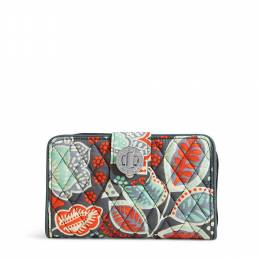 Vera Bradley Turn Lock Wallet in Nomadic Floral