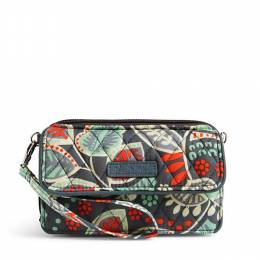 Vera Bradley All in One Crossbody and Wristlet for iPhone 6+ in Nomadic Floral